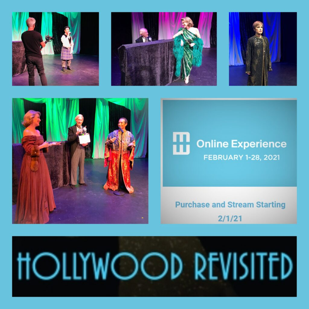 Hollywood Revisited Streamed Performance for Modernism Week February 2021
